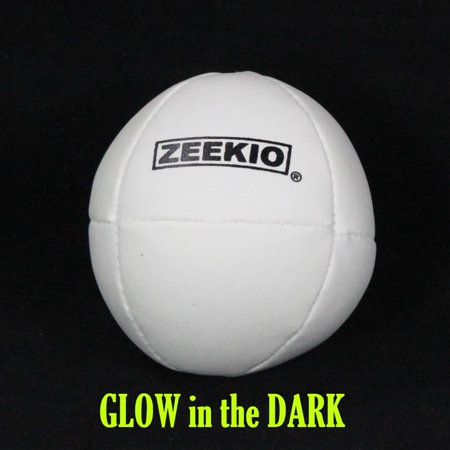 Zeekio Komet Juggling Ball - (1) Ball 130g 62mm (Glow in the Dark) - Glow Juggling Balls