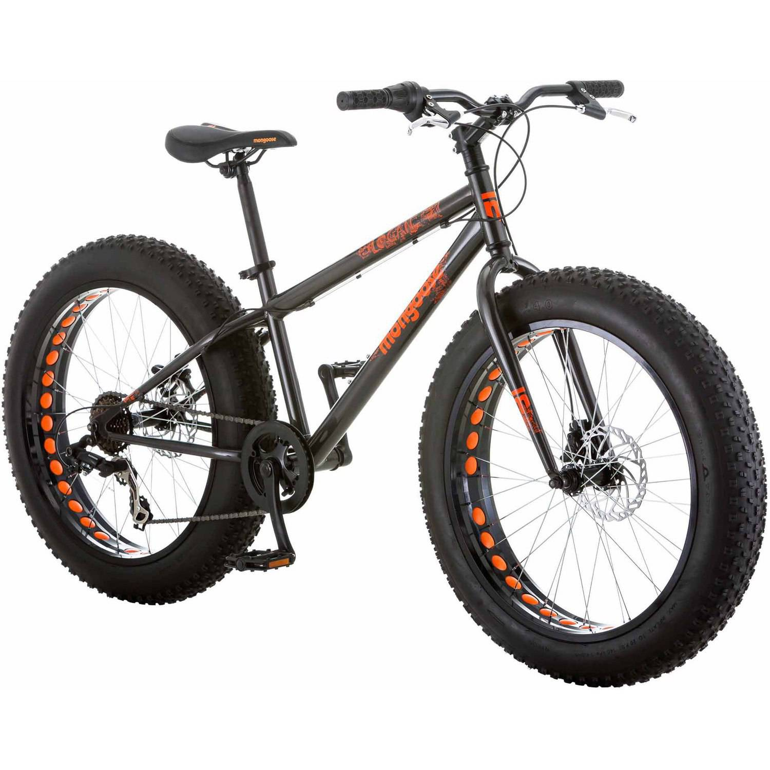"Mongoose Logan 24"" Bike, Grey"