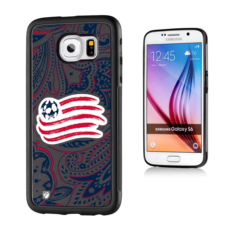 New England Revolution Paisley Galaxy S6 Bumper Case