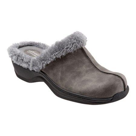 women's softwalk abigail clog - Softwalk Suede Clogs