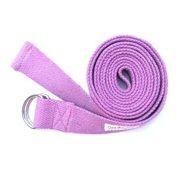 KushOasis OM131006-Magenta OMSutra Yoga Strap D-Ring 6 ft.  - Color - Magenta