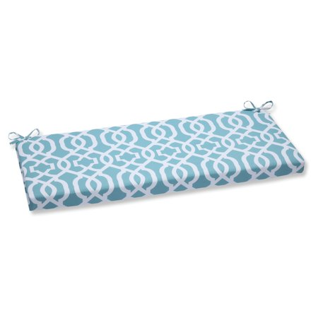 Pillow Perfect Outdoor/ Indoor New Geo Aqua Bench Cushion ()