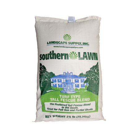 LSI southernLAWN THREE-WAY BLEND Premium Blue Tag Certified Turf Type Tall (Turf Type Tall Fescue Vs Kentucky 31)