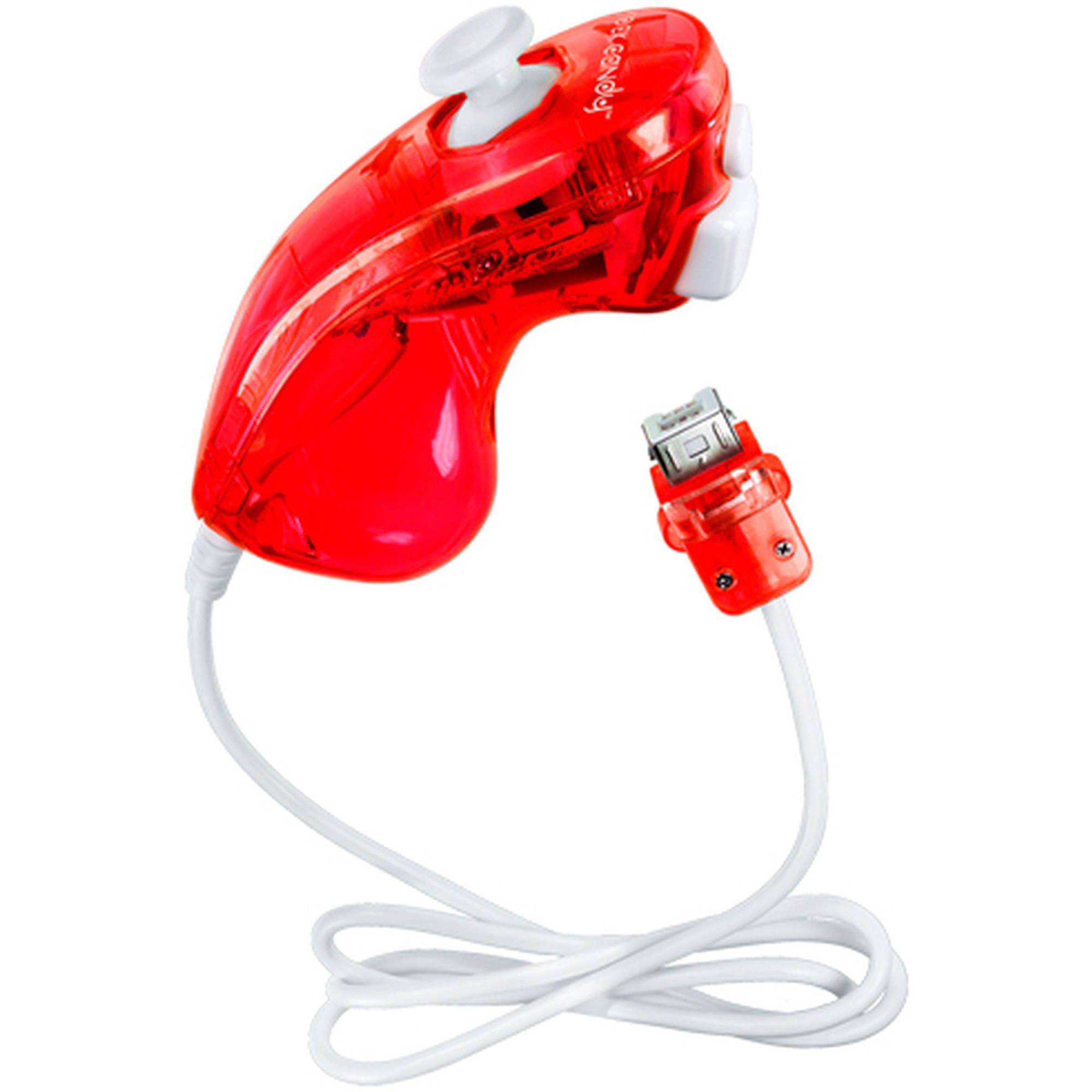 Rock Candy 8580R Control Stick, Red (Wii) by PDP