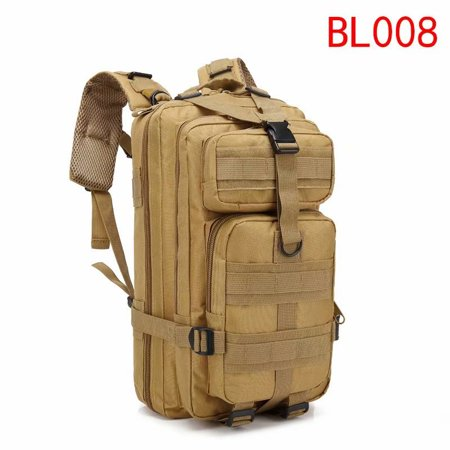 29226ab0e88a Military Tactical Backpack Army Assault Pack Molle Bug Out Bag Backpacks  Rucksacks for Outdoor Hiking Camping Trekking Hunting 30L CP Camouflage