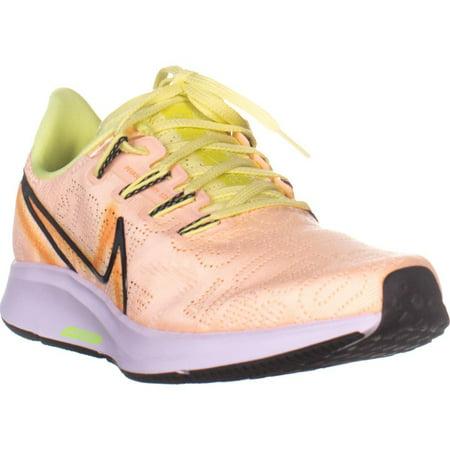 Womens Nike Air Zoom Pegasus Running Shoes, Crimson Tint/Black, 7.5 US Air Zoom Tour Shoes