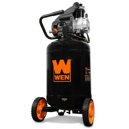 WEN 20-Gallon Oil-Lubricated Portable Vertical Air Compressor