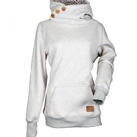 Women's Fashion Hoodies Casual Winter Sweatshirts Long Sleeved Pullovers  Button Pocket Hoodie | Walmart Canada