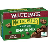 Nature Valley Crunchy Oats 'N Chocolate Snack Mix 10 Count