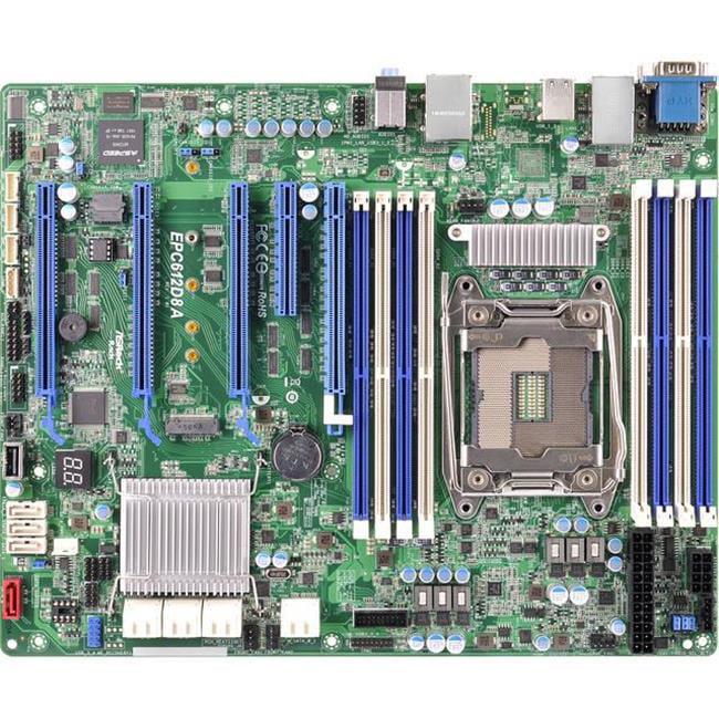 ASRock Rack EPC612D8A LGA2011-V3 Intel C612 DDR4 SATA3 & ...