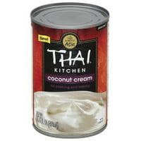 Simply Asia Thai Kitchen Coconut Cream, 13.66 fl oz, (Pack of 6)