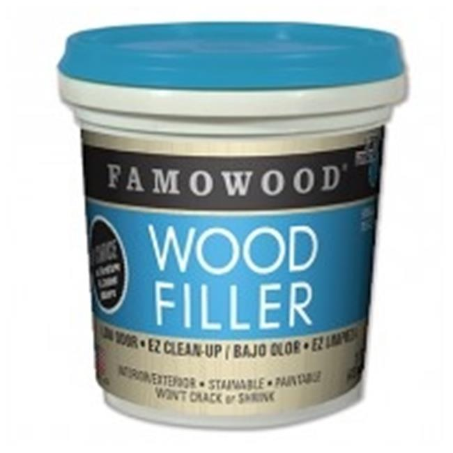FA22128 Famowood Water Based Wood Filler, Oak - 1 Pint