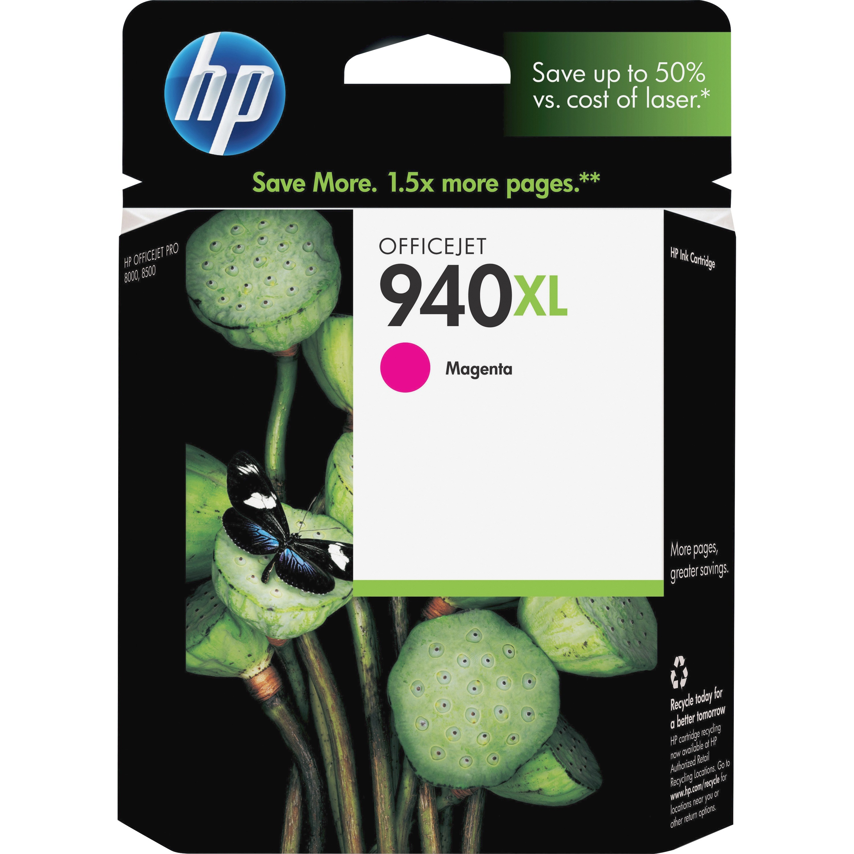 HP, HEWC4908AN, C4906/7/8/9AN Ink Cartridges, 1 Each