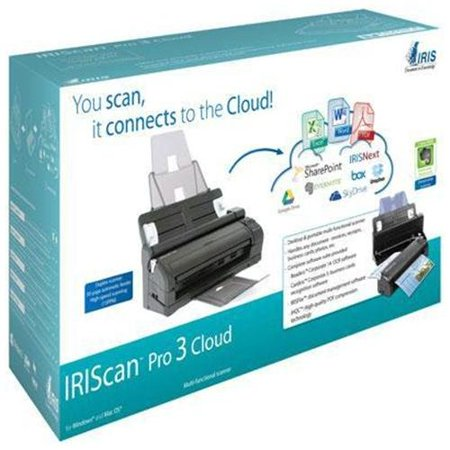 Iris Inc 457893 Iriscan Pro 3 Cloud Usb Lgl Perp You Scan It Connects To The Cloud