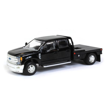 Ford F-250 Pickup Engine - 1/64 Black Ford F-250 Pick-up with Flatbed 52611