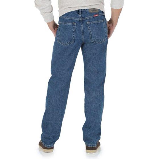 beb4642c Wrangler - Wrangler Men's Regular Fit Jeans - Walmart.com