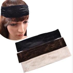 Flexible Velvet Wig Grip Band Scarf Head Hair Band Headband