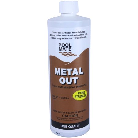 Pool Mate Mineral Out and Stain Remover for Swimming Pools