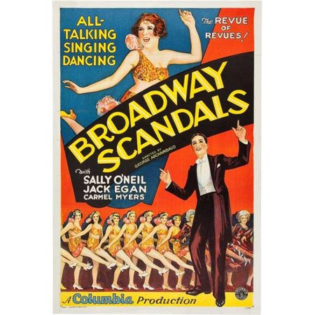 Posterazzi MOVIB11490 Broadway Scandals Movie Poster - 27 x 40 in. - image 1 of 1