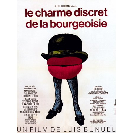 The Discreet Charm Of The Bourgeoisie (8 x 10) 1972 Tm And 20Th Century Fox All Rights ReservedCourtesy Everett Collection Movie Poster Masterprint (8 x 10)