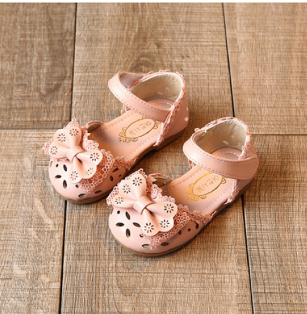 Cute Baby Kids Toddler Infant Girls Casual Flat Wedding Party Princess Shoe Gift