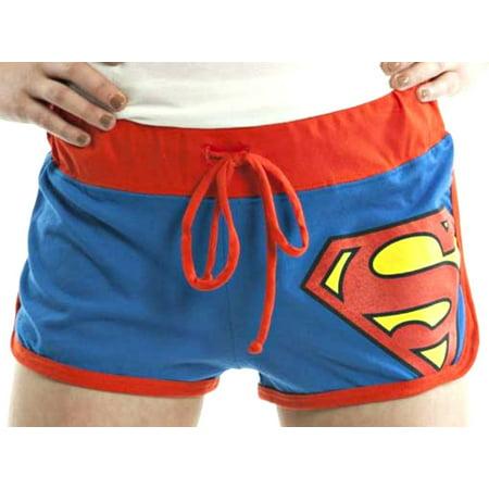 Bioworld DC Comics Superman Junior Fit Short Shorts - Size X-Large (X-Large)