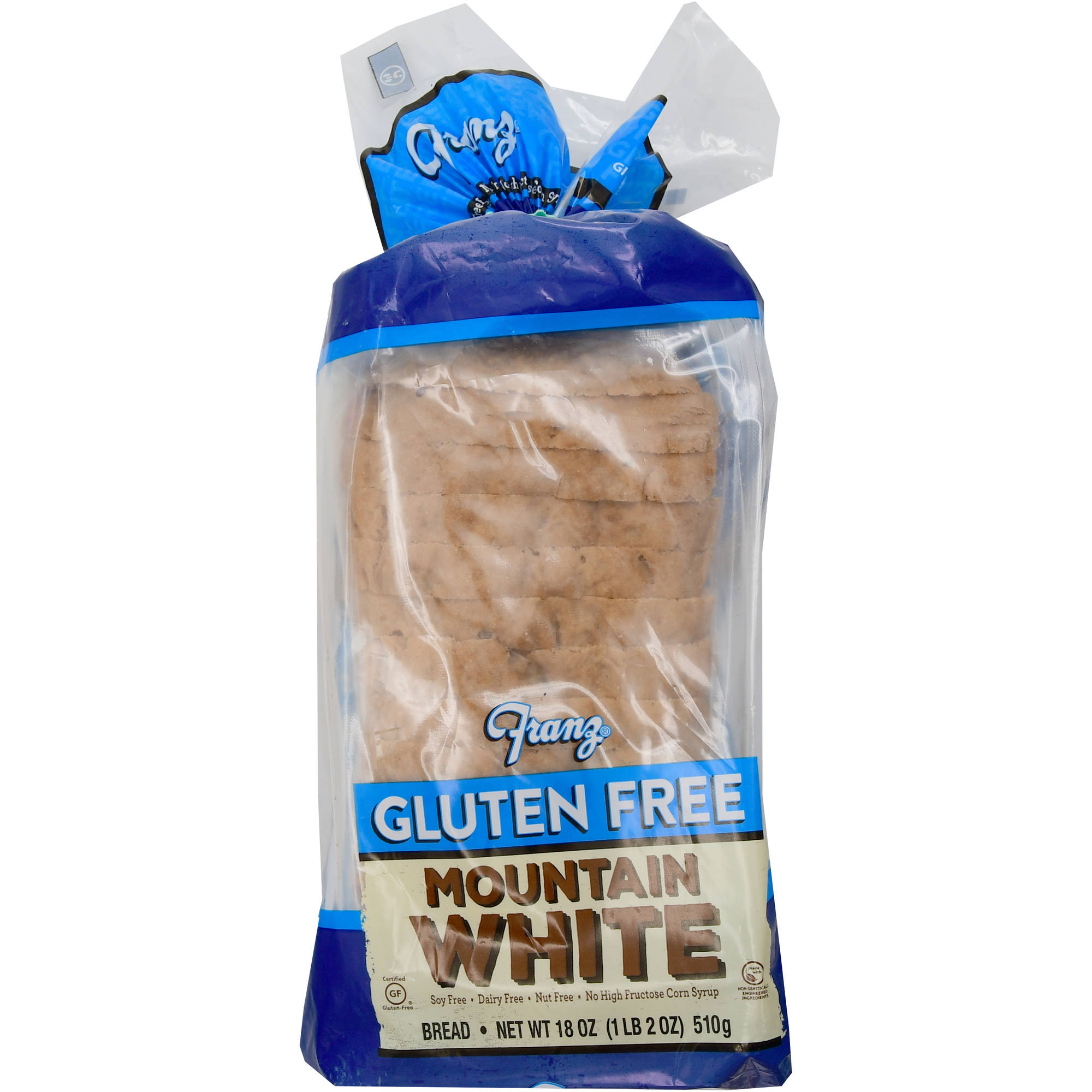 Bakehouse Franz Gluten Free Mountain White Bread 18 oz Walmartcom