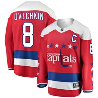 Alexander Ovechkin Washington Capitals Fanatics Branded Alternate Breakaway Player Jersey - Red