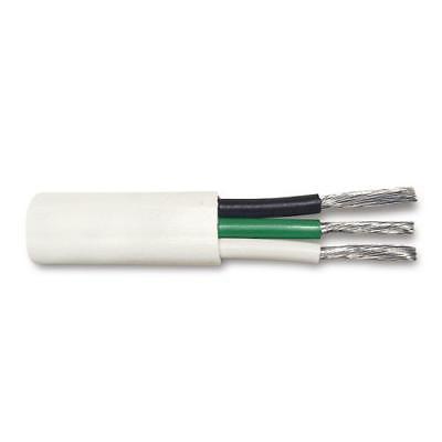250pk 16 3 Ul1426 Marine Cable White Pvc Jacket Black