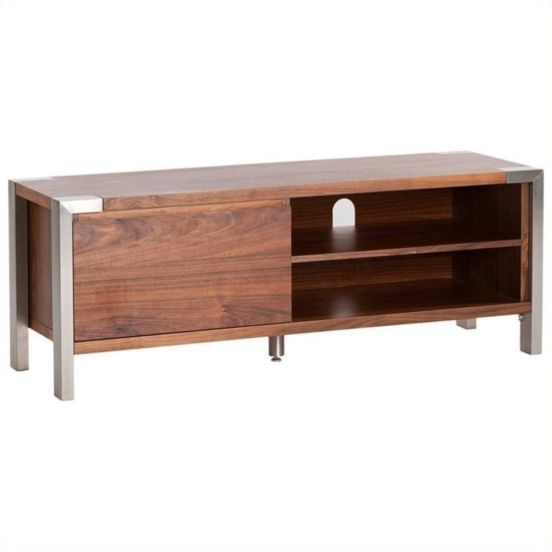 Moe's Winton TV Table in Walnut by Moe's Home Collection
