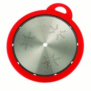 "WoodRiver Blade Keep 10"" Silicone Saw Blade Cover, Red"