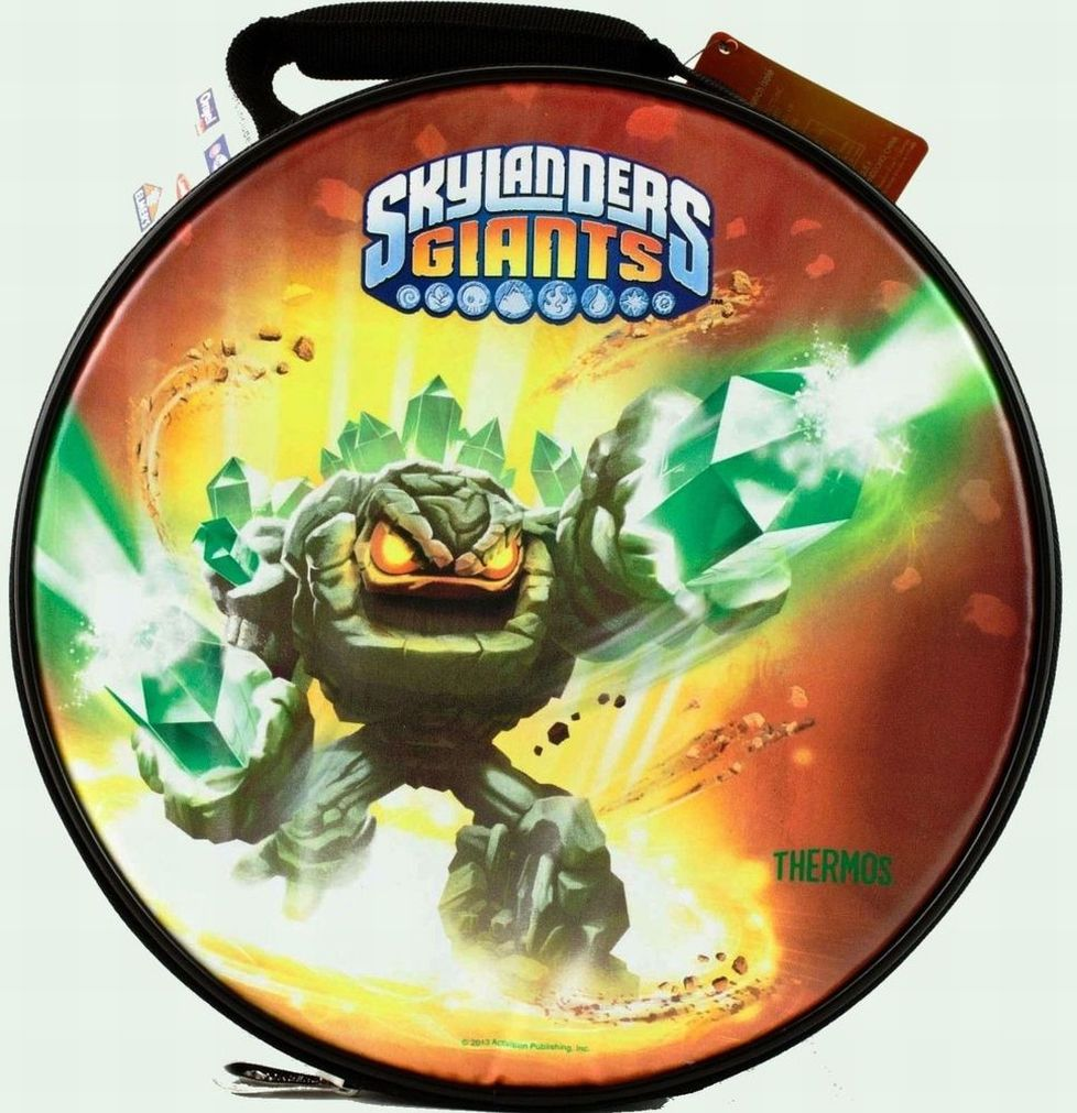 Thermos Skylanders Giants Soft Lunch Box Insulated Bag Lunchbox Tote