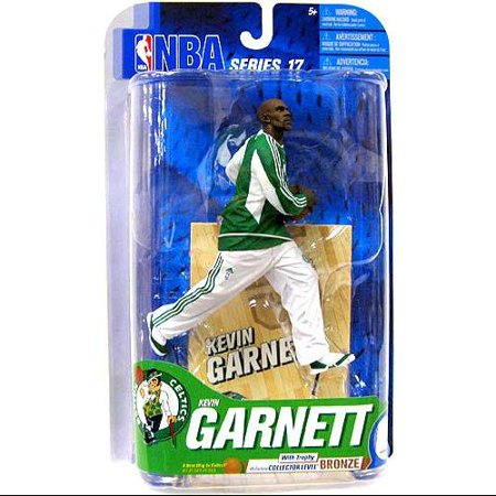 Mcfarlane Nba Sports Picks Series 17 Kevin Garnett Action Figure  Green Jersey