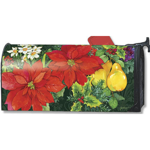 Magnet Works Poinsettia Fruit Mailwrap