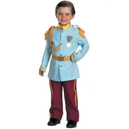Prince Costume Ideas For Kids (Disney Prince Charming Child Halloween Costume, Small)
