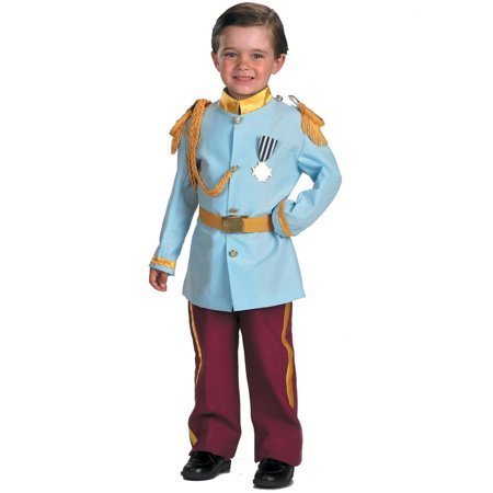Disney Prince Charming Child Halloween Costume, Small (4-6)](Disney Alice Costume)