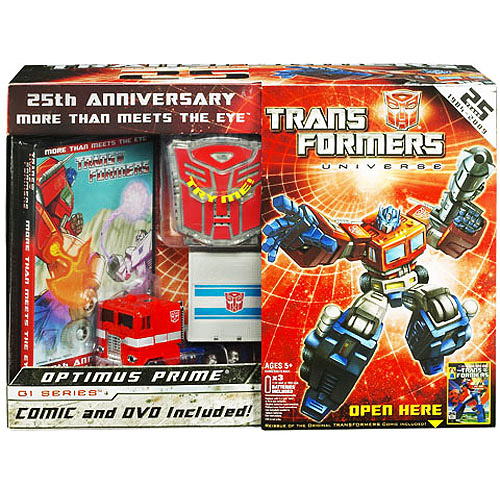 Transformers Optimus Prime 25th Anniversary Pack