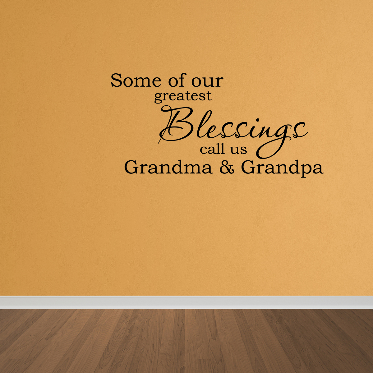 Wall Decal Quote Some Of Our Greatest Blessings Call Us Grandma And ...