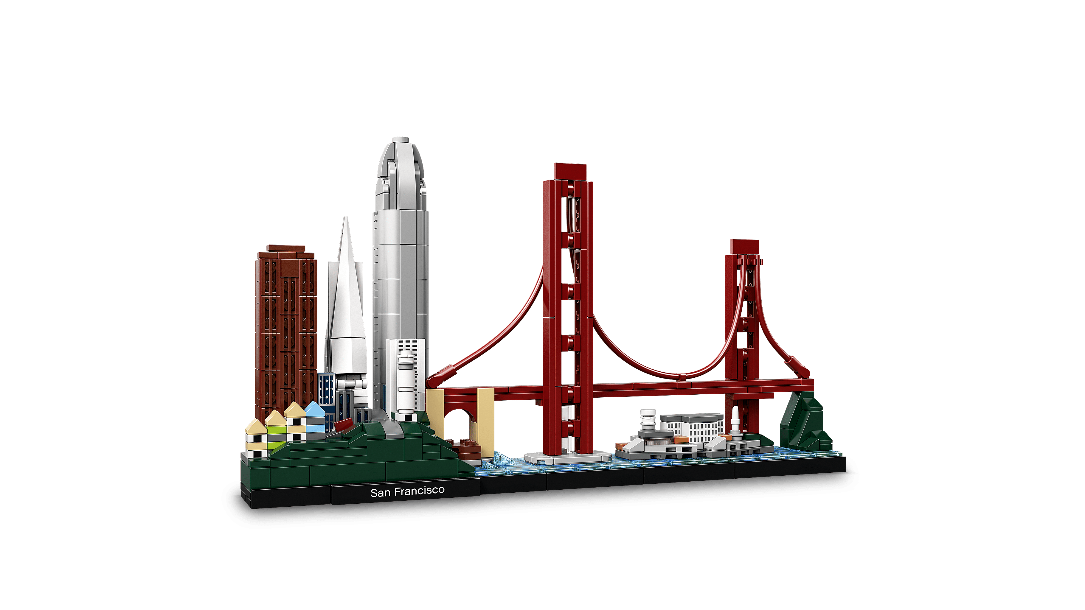 Lego Architecture 21043 San Francisco Building Kit With Iconic Landmarks Walmart Com Walmart Com