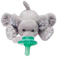 Nookums Paci-Plushies Buddies - Elephant Pacifier Holder