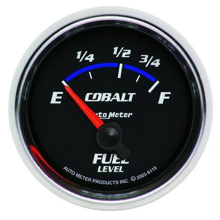 (AutoMeter 6115 Cobalt Electric Fuel Level Gauge)