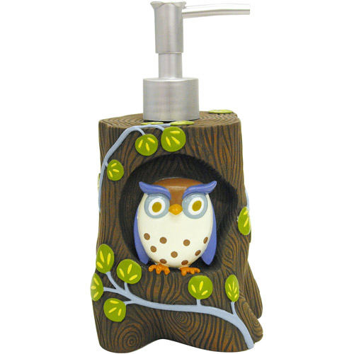 Allure Awesome Owls Lotion Pump