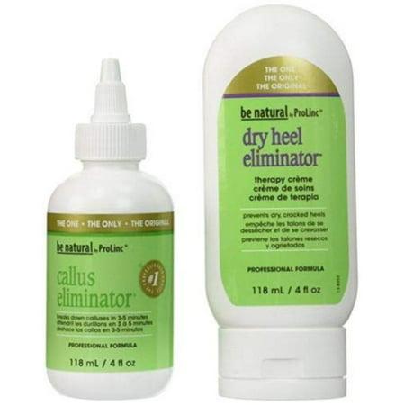 Dry Heel Eliminator - Callus Eliminator- Dry Heel Eliminator Combo By Be Natural