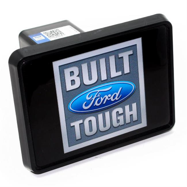 SmallAutoParts Hitch Cover - Ford Built Tough