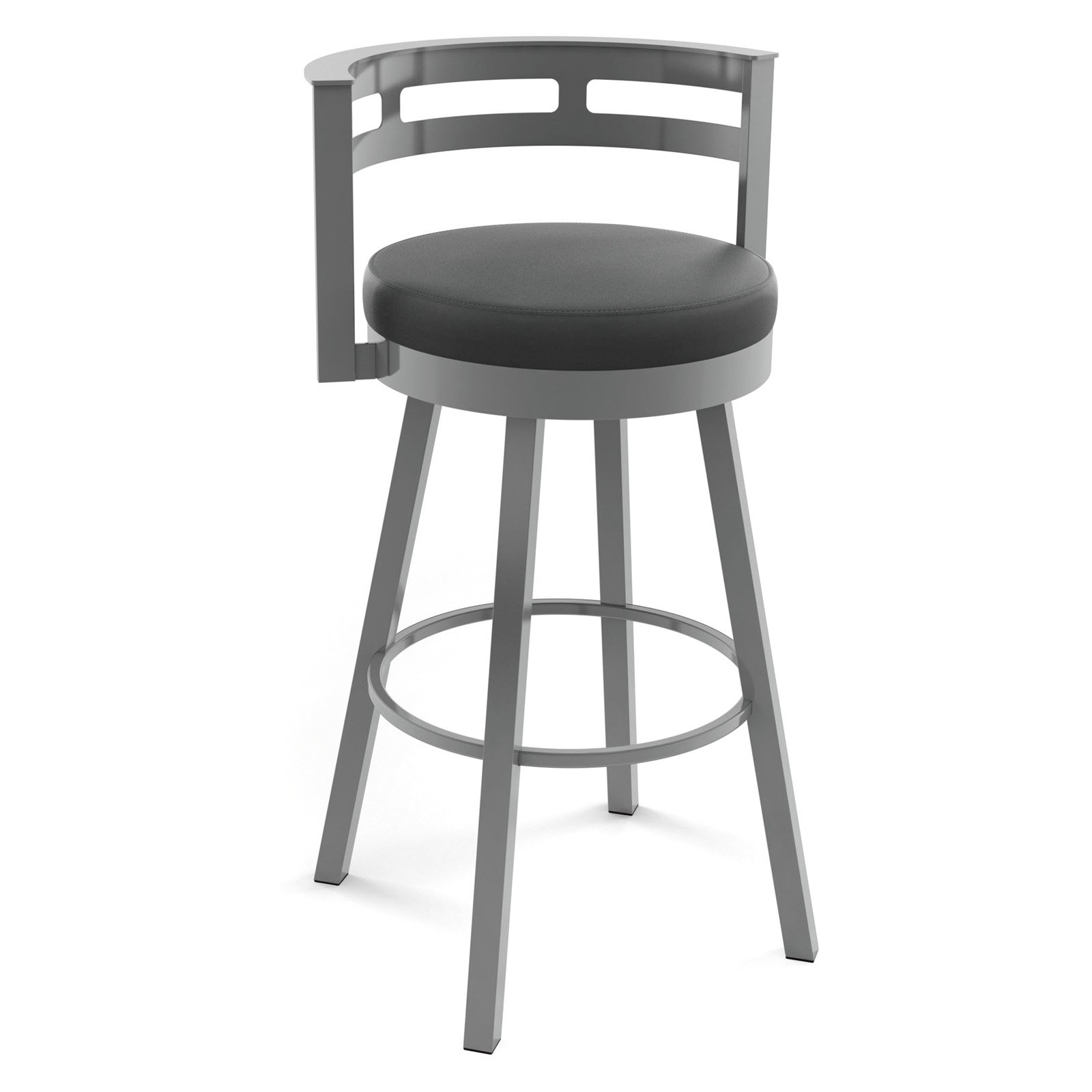 Amisco Render 31 in. Swivel Barstool