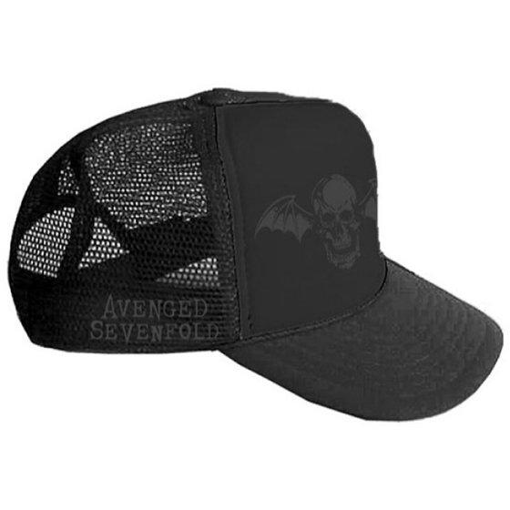 ef0d0eb99ae54 Avenged Sevenfold - Avenged Sevenfold Men s AVS Death Bat Hat ...