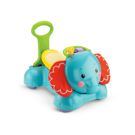Fisher Price 3 In 1 Bounce Stride And Ride Elephant Walmart