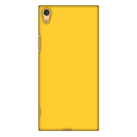 Sony Xperia XA1 Case, Premium Handcrafted Designer Hard Shell Snap On Case Printed Back Cover with Screen Cleaning Kit for Sony Xperia XA1, Slim, Protective - Bumblebee Yellow