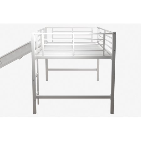 RealRooms Madison Junior Loft Bed Frame, Small Space Living, Multiple Colors