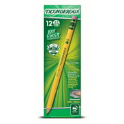 My 1st Ticonderoga 13/32 Inc Primary Pencil With Eraser Sharpened 12 Count
